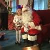 Christmas party fun and visit from Santa