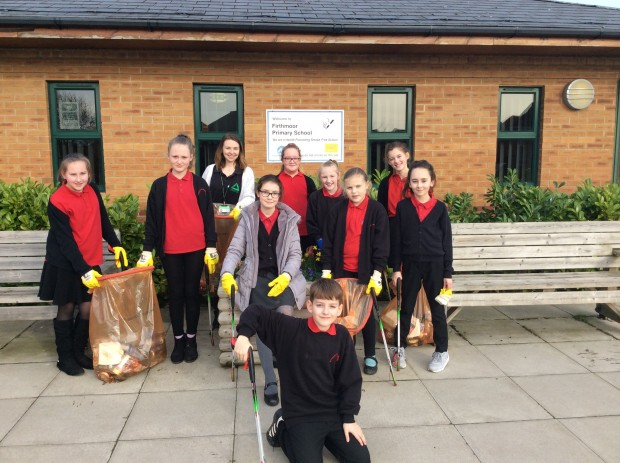Year 6 litter picking