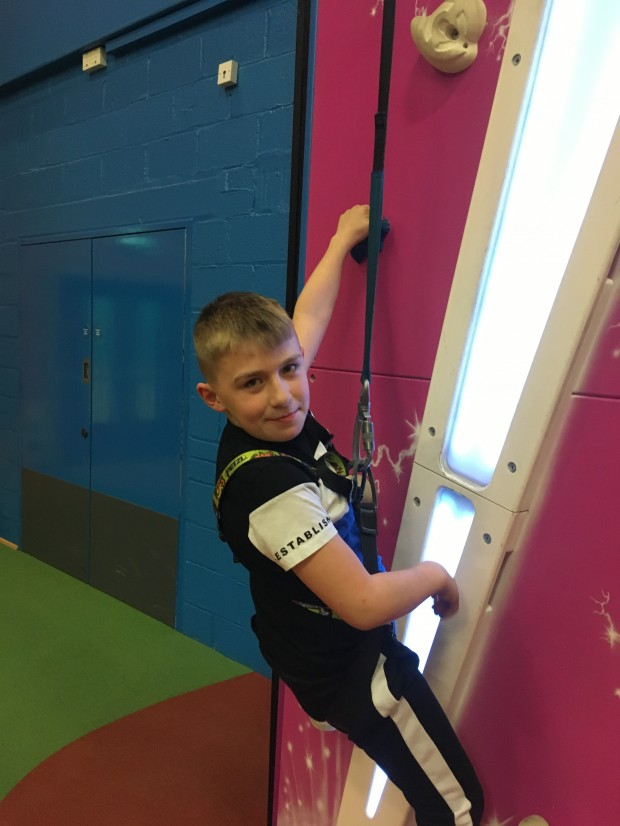 Year 4/5 Writing Club – visit to GoClimb