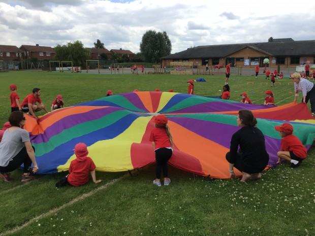 School Games Day Celebrations