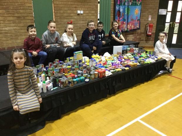 Firthmoor Food Bank Donations