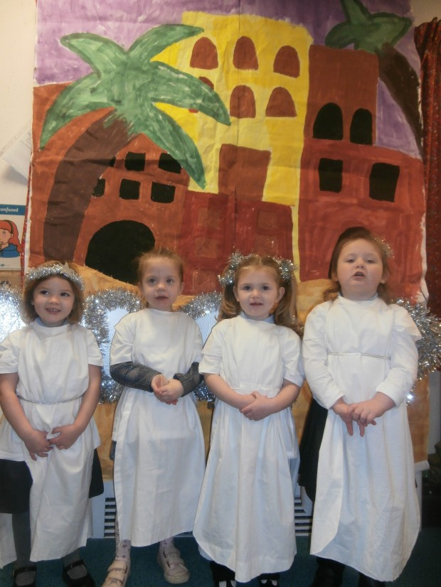 Early Years Nativity Performance